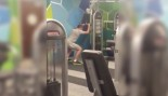 Gym Fail Friday: Man Does Bizarre Thrusting Exercise In Gym thumbnail