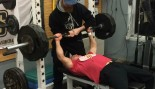 Jim McHugh bench press thumbnail