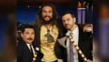 Jason Momoa Throws Axes With Jimmy Kimmel thumbnail