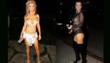 "Joanna Krupa attends Wilmer Valderrama's Halloween Party at Nightingale Club in LA and ""treats!"" Magazine Halloween Party thumbnail"