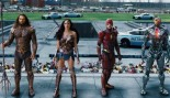 Aquaman, Cyborg, The Flash and Wonder Woman in Justice League thumbnail