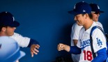 Watch: LA Dodgers translator crushes 405-lb deadlift challenge from pitcher Kenley Jansen thumbnail