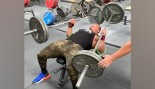 Larry Wheels Benched Two 225-Pound Barbells for His Birthday thumbnail