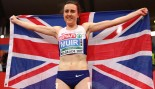 Official Tries to Stop Laura Muir from Celebrating 1500m Medal thumbnail