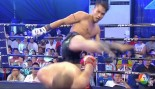 Kickboxer Dodges Head Kick 'Matrix'-Stlye Move thumbnail