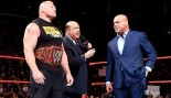Brock Lesnar, Paul Heyman, and Kurt Angle thumbnail