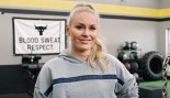 "Lindsey Vonn Joins ""The Rock's"" Project Rock Team  thumbnail"