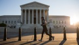 Man Running Outside The Supreme Court  thumbnail