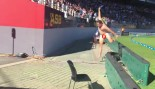 Naked Fan Storms the Field Then Losses to a Wall (NSFW) thumbnail