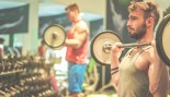man tired in gym with barbell thumbnail