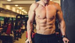 Man Doing Dips in the Gym thumbnail