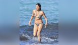 Michelle Rodriguez at the Beach thumbnail