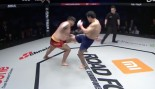 Aorigele Kicks Myung Hyun-Man In The Groin At Road FC 39.  thumbnail