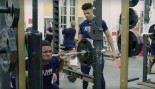 Watch: Notre Dame Football Celebrates Valentine's Day by Crushing Offseason Workouts thumbnail