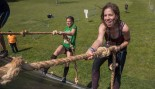 Participants Take Part In The Mud Day Race, A 13Km Obstacle Course thumbnail