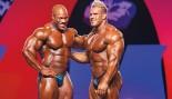 Bodybuilders Jay Cutler and Phil Heath thumbnail