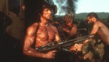Sylvester Stallone in a scene from the film 'Rambo III', 1988.  thumbnail