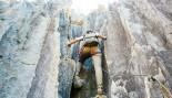 Woman Rock Climbing thumbnail