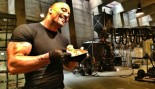 The Rock eating lunch thumbnail