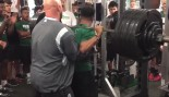 Rondale Moore 530 Pound Squat  thumbnail