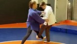 Rousey posted a video on Instagram of her doing some judo teaching to a young man. thumbnail
