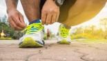 Tying running sneakers thumbnail