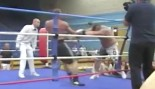 Eddie Hall Sends A Man Flying In Boxing Match thumbnail