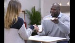 How is Shaq Getting Ready for Wrestlemania? By Advertising for Krispy Kreme and Oreo thumbnail