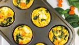 Sweet Potato, Spinach, and Egg Muffins thumbnail