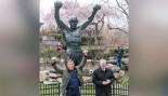 Sylvester Stallone Dedicates 'Rocky' Statue thumbnail