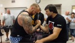 The Mountain Humbled by Arm Wrestling Champ Devon Larratt thumbnail