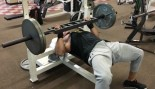 The Rock benching weights. thumbnail