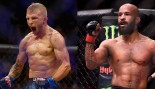 "T.J. Dillashaw Calls Mighty Mouse's Title Defense Record Fake and Says ""I'm Coming for You""  thumbnail"