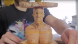 Laser Cut Ham And Cheese Sandwich of Vin Diesel  thumbnail