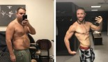 Walter Fisher before and after $1 million bet to get under 10% body fat thumbnail