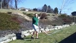 Guy Slices Himself With 80Ft Homemade Whip thumbnail