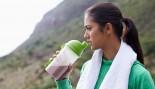 Woman Drinking Protein Shake  thumbnail
