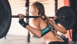 Woman Doing Back Squats thumbnail