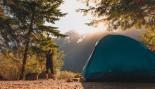 Woman Camping Outdoors  thumbnail