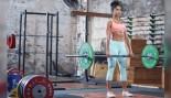 Woman Deadlifting In A Gym thumbnail
