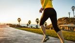 Woman Running on Boardwalk  thumbnail