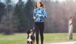 Woman Jogging With Dog thumbnail