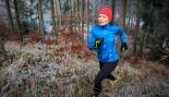Woman Trail Running Outdoors thumbnail