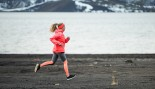 Woman Running in Winter thumbnail