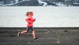 Woman Running in Winter thumbnail