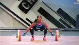 Weightlifter Gaelle Nayo Ketchanke Breaks Arm  thumbnail