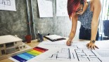 Woman Working At Her Desk  thumbnail