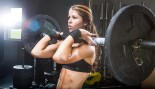woman squatting with barbell thumbnail