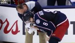 t of the play by a Phil Kessel shot to the mouth thumbnail