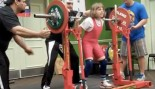Naomi Kutin, 10, World Record Holder for the Women's Squat with 214.9 lbs   thumbnail
